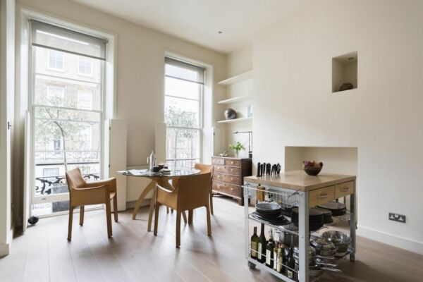 Dining Area, Weymouth Street II Serviced Apartments, London