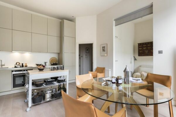 Kitchen, Weymouth Street II Serviced Apartments, London