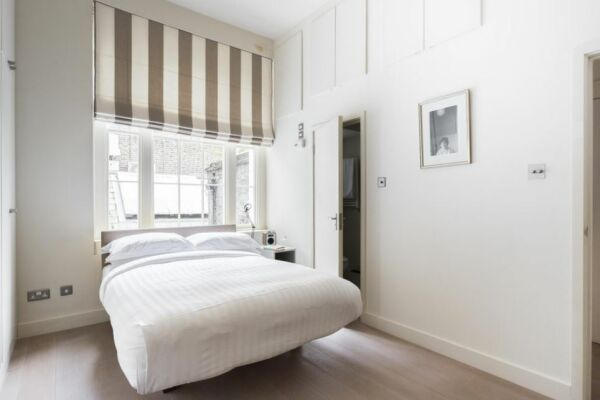 Bedroom, Weymouth Street II Serviced Apartments, London