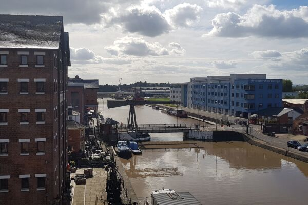 View, Biddle Shipton Serviced Apartment, Gloucester