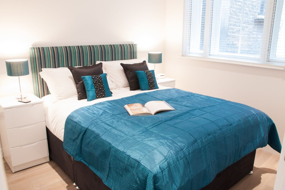 Bedroom, Chandos Place Serviced Apartments, Covent Garden, London