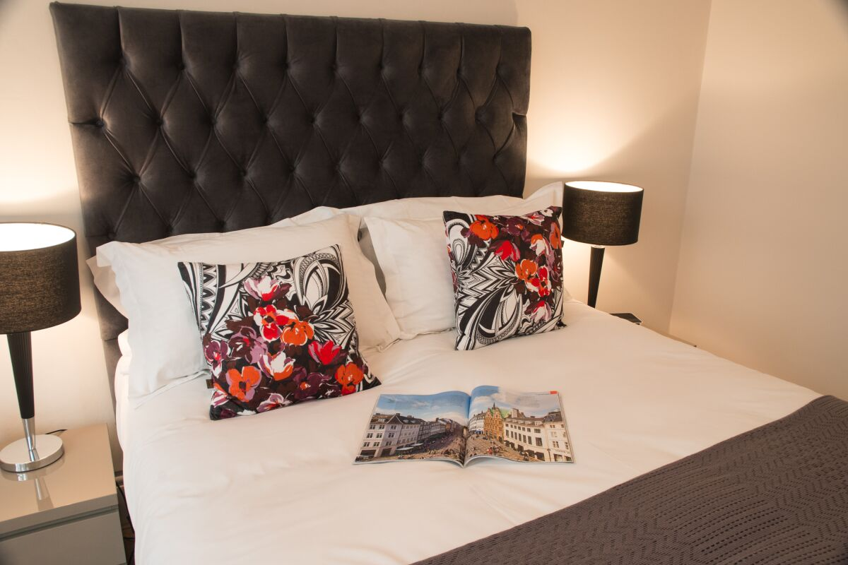 Bedroom, Burleigh Mansions Serviced Apartments, Covent Garden, London