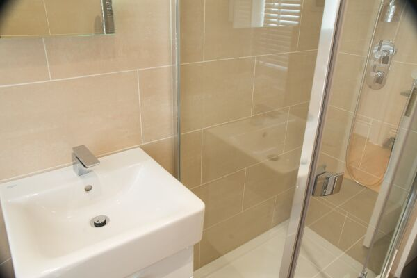 Bathroom, Burleigh Mansions Serviced Apartments, Covent Garden, London