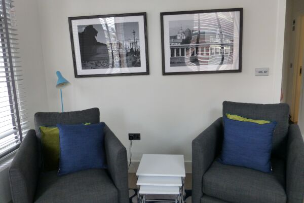 Living Room, Shaftesbury Avenue Serviced Apartments, Soho, London