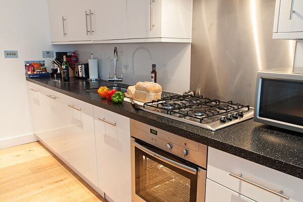 Kitchen, Wellington Street Serviced Apartments, Covent Garden, London