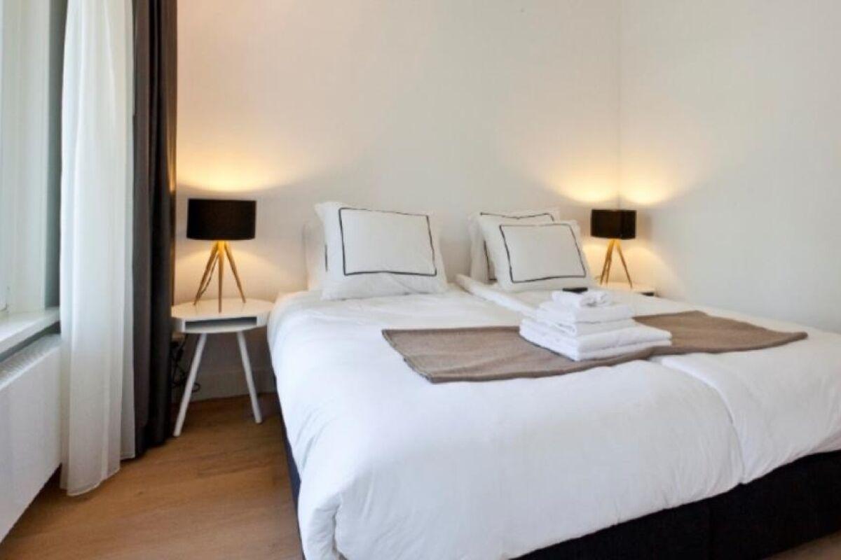 Bedroom, Vierwindendwarsstraat Serviced Accommodation, Amsterdam