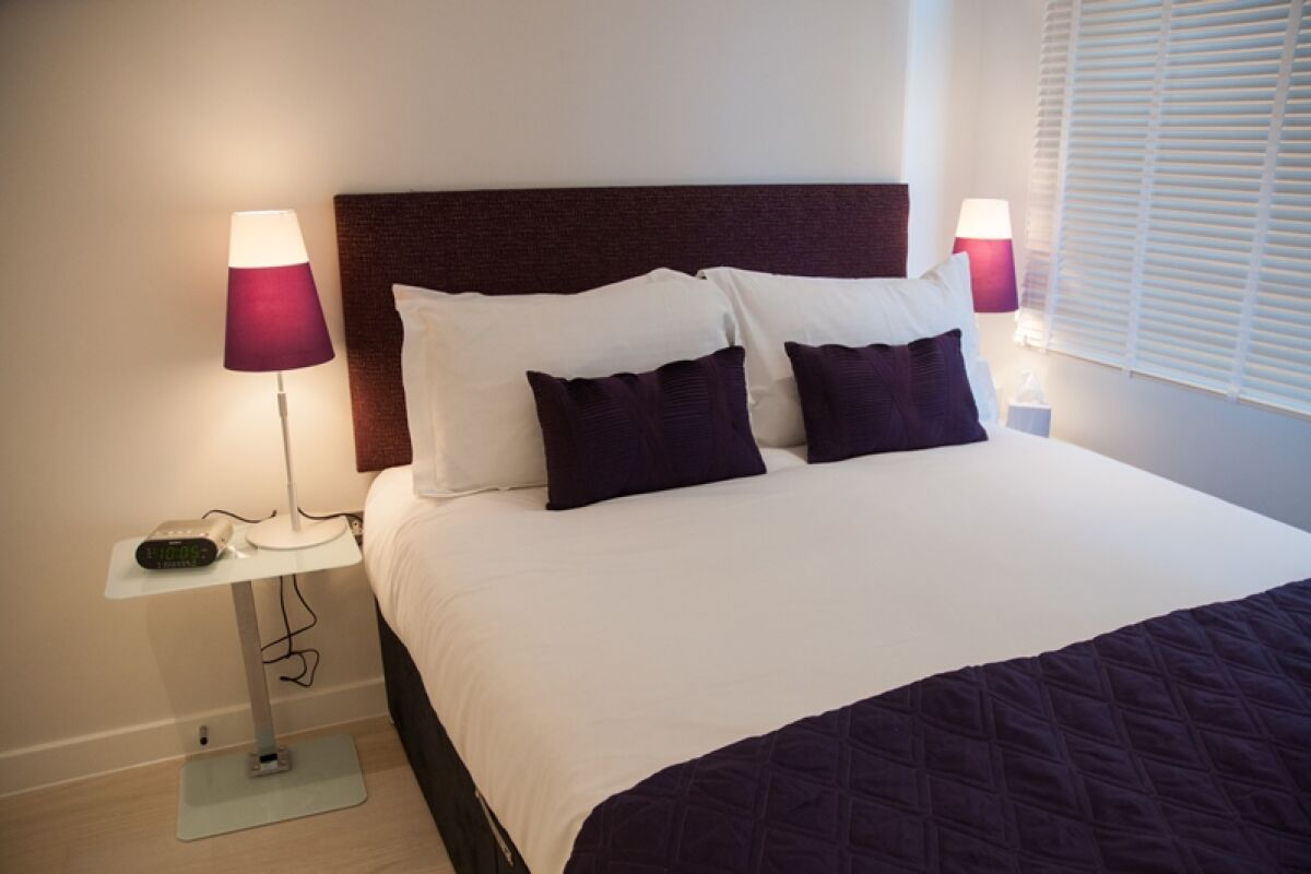 Bedroom, West Street Serviced Apartments, Covent Garden, London