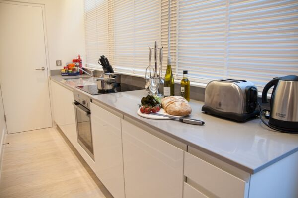Kitchen, West Street Serviced Apartments, Covent Garden, London