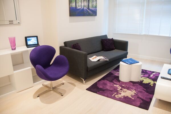Living Room, West Street Serviced Apartments, Covent Garden, London