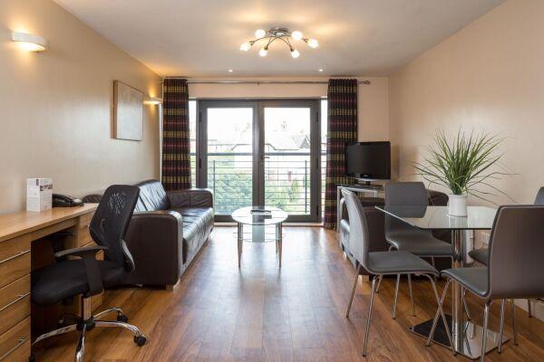 Living Area, Headingley Serviced Apartments, Leeds