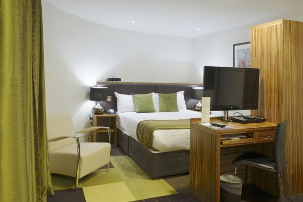 Bedroom, Princess Street Serviced Apartments, Manchester