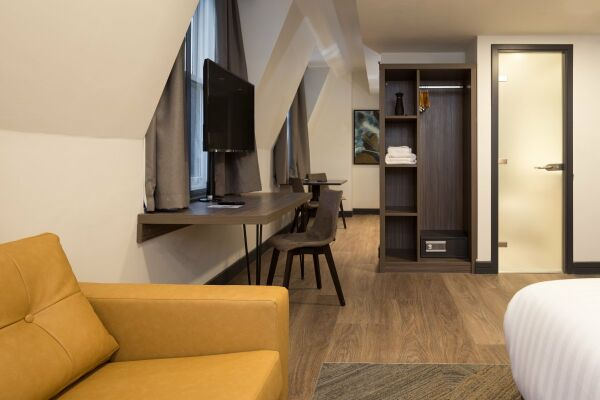Lounge, Corn Exchange Serviced Apartments, Manchester