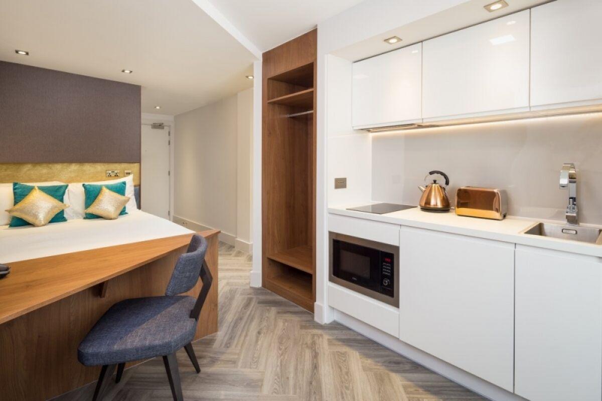 Studio, London Stratford Serviced Apartments