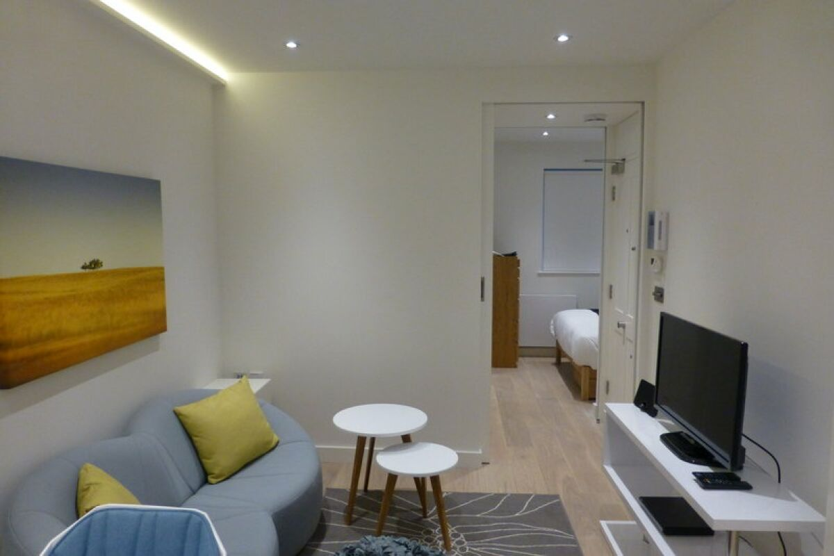 Living Area, Old Compton Street Serviced Apartments, Soho, London
