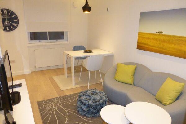 Living Area, Old Compton Street Serviced Apartments, Soho, London