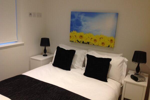 Bedroom, Old Compton Street Serviced Apartments, Soho, London