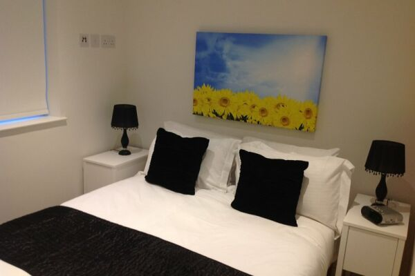 Bedroom, Old Compton Street Serviced Apartments, Soho, London