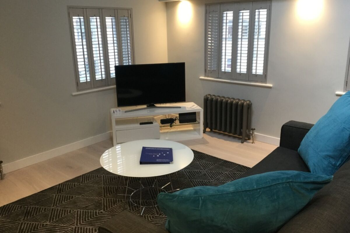 Living Area, Wellington Serviced Apartments, Covent Garden
