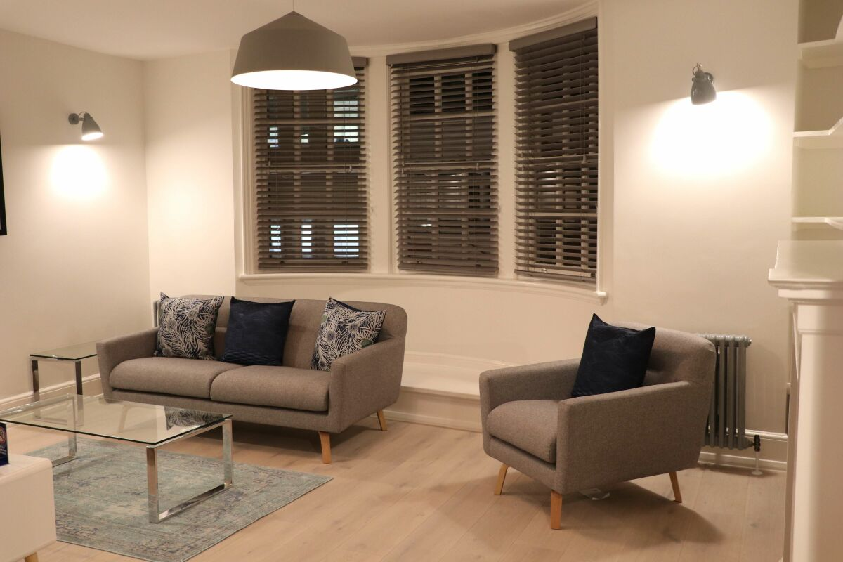 Living Area, St Martin's Lane Serviced Apartments, London