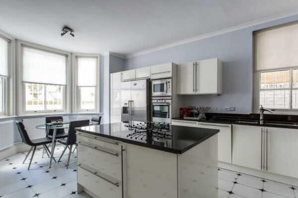 Kitchen, Elgin Crescent VIII Serviced Accommodation, Notting Hill