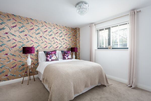 Bedroom, St George's Road Serviced Apartments, Cheltenham