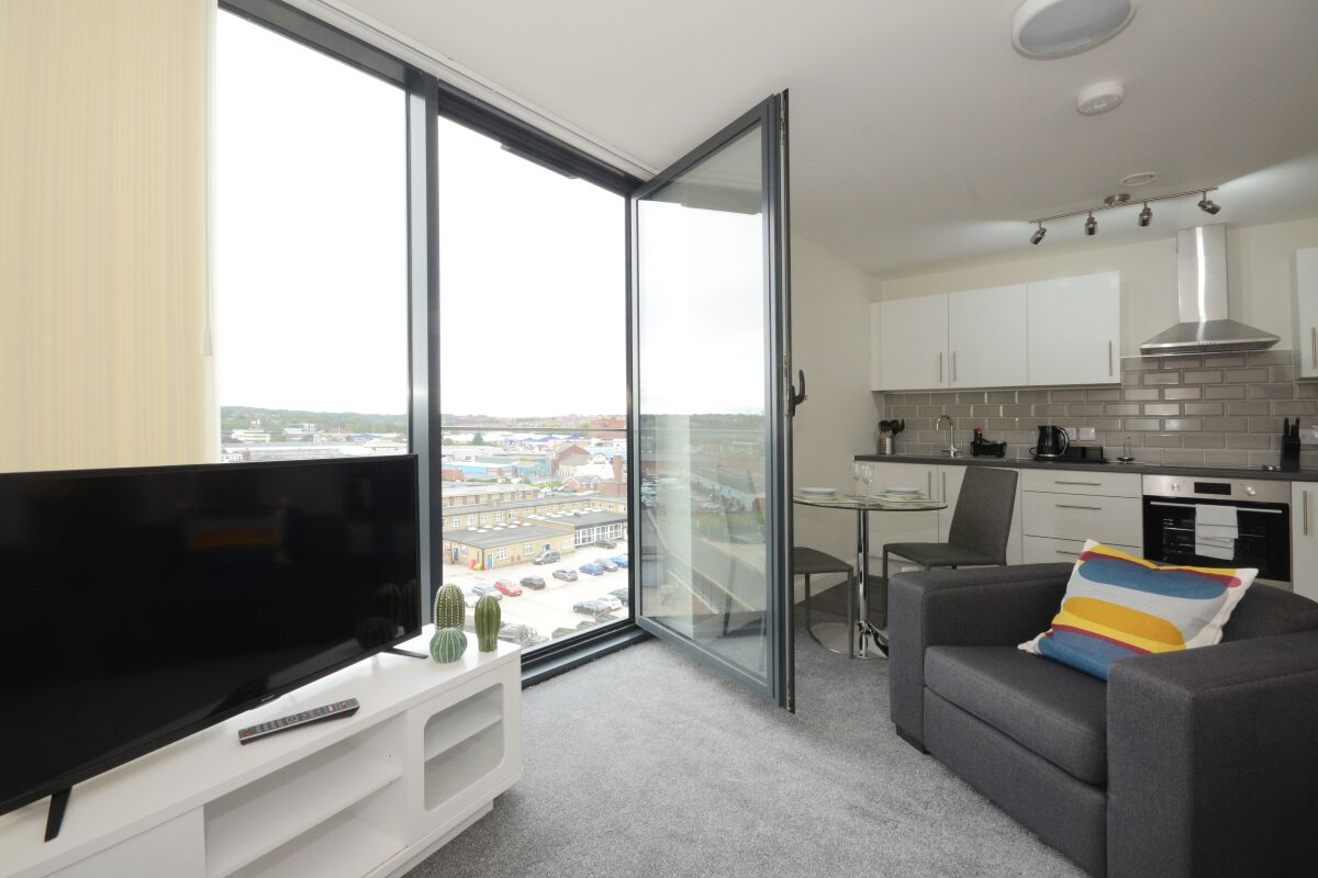 Victoria House Apartments in Leeds, Living Area