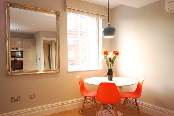 Dining Area, Whitehall Serviced Apartments, Westminster