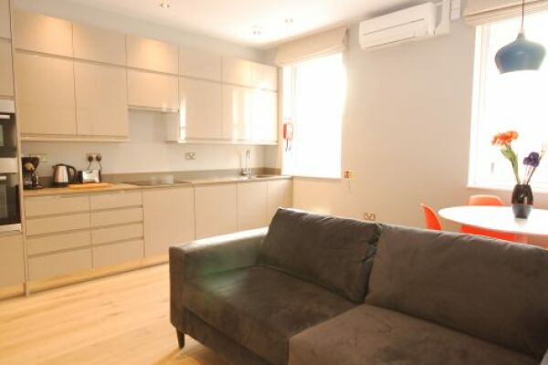 Living Area, Whitehall Serviced Apartments, Westminster