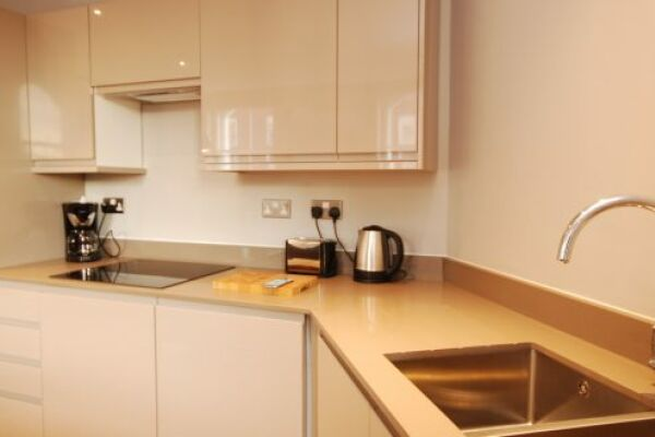 Kitchen, Whitehall Serviced Apartments, Westminster