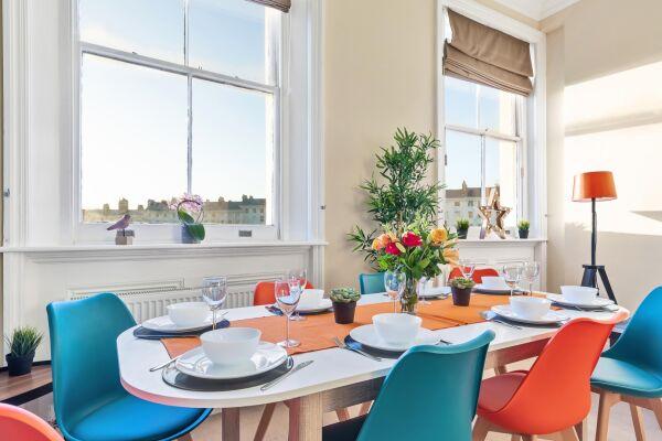 Dining Area, Grand Seaview Serviced Apartment, Hove, Brighton