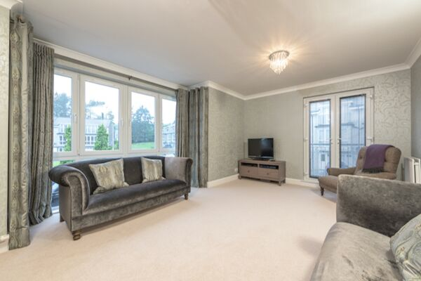 Living Area, Woodlands Terrace Accommodation, Aberdeen