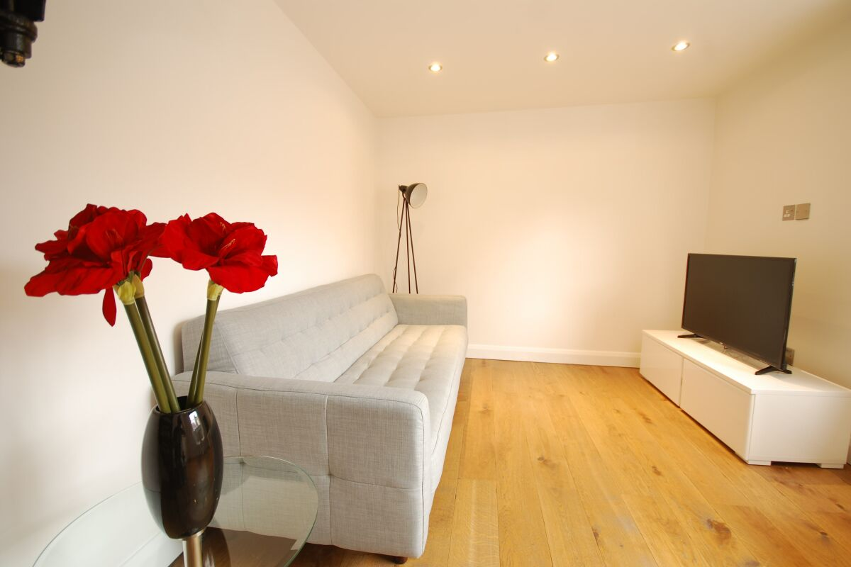 Living Area, Earlham Street Serviced Apartments, Covent Garden
