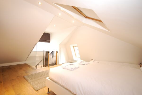 Bedroom, Earlham Street Serviced Apartments, Covent Garden