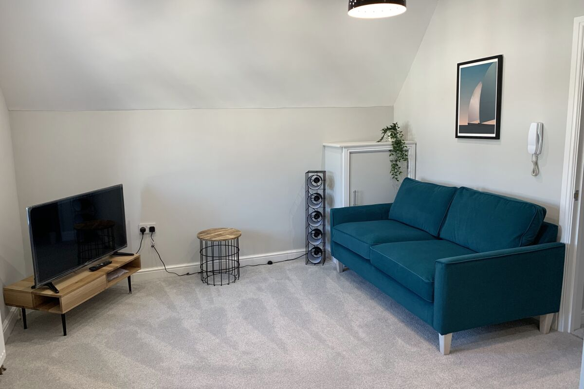 Living Area, Victoria House Accommodation, Canton