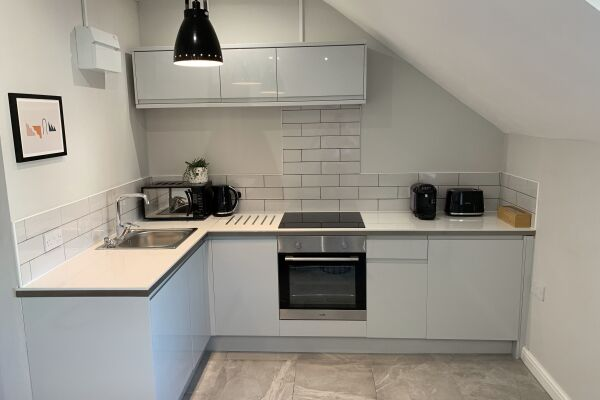 Kitchen, Victoria House Accommodation, Canton