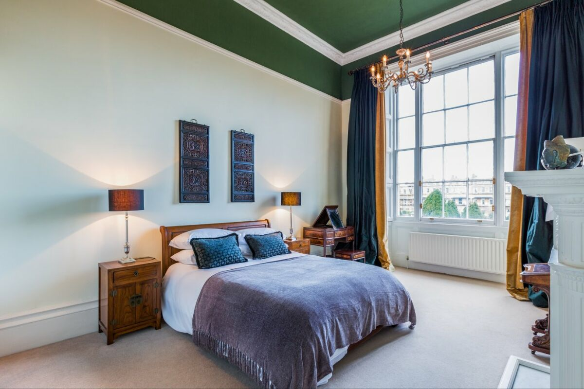 Bedroom, Montpellier House Serviced Apartments, Cheltenham
