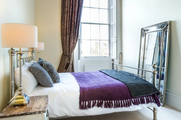 Bedroom, Montpellier House Serviced Apartments, Cheltenham