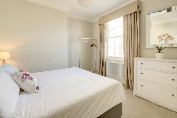 Bedroom, Wolcote House Serviced Apartment, Cheltenham