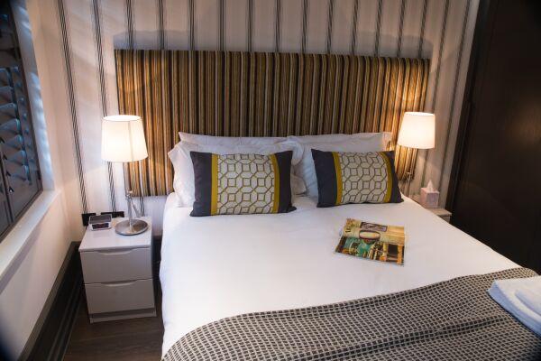 Bedroom, Garrick Street Serviced Apartments, Covent Garden