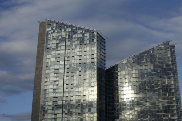 Pioneer Point Serviced Apartment Building, Ilford, London