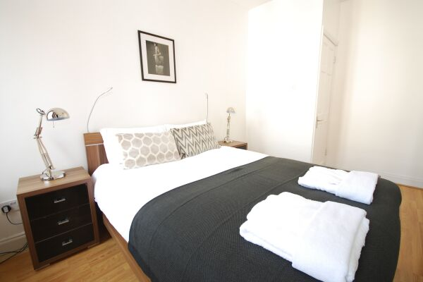 Bedroom, Old Compton Street Serviced Apartments, Soho