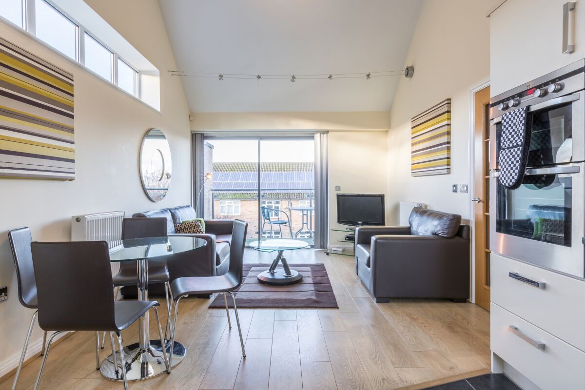 Lounge, Spur House Serviced Apartments Maidenhead