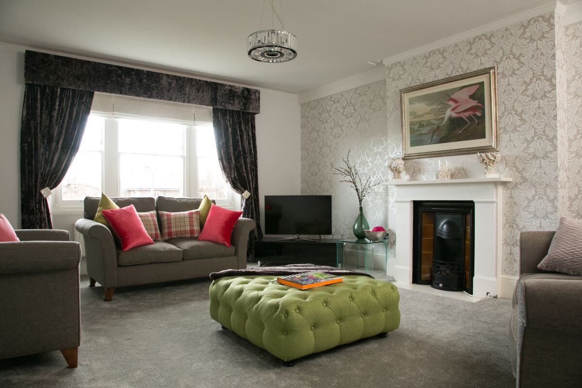 Living Area, St Margaret's Serviced Apartments, Twickenham, London