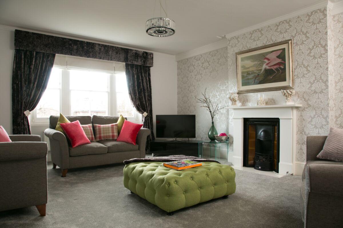 Living Area, St Margaret's Serviced Apartments, Twickenham, London