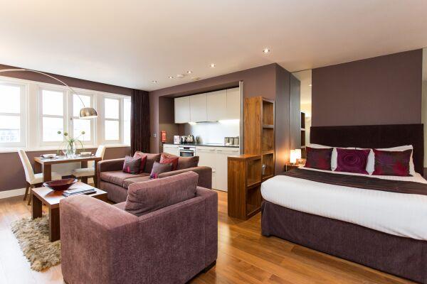 Studio, Park Place Serviced Apartments, Leeds