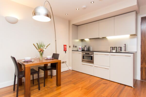 Kitchen,  Park Place Serviced Apartments, Leeds