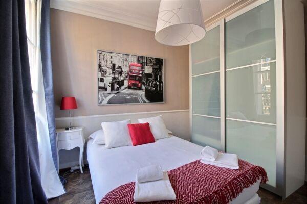 Bedroom, Lerivoli Serviced Apartment, Paris