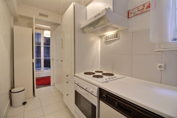Kitchen, Lerivoli Serviced Apartment, Paris