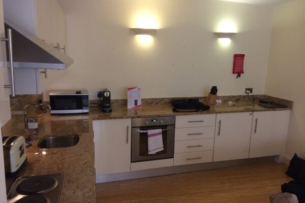 Kitchen, Monument Executive Serviced Apartments, London