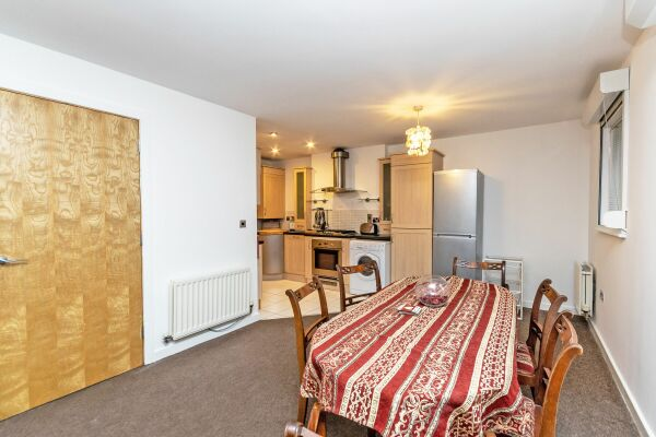 Open Plan Living Area, Bakers Court Serviced Accommodation, Chester